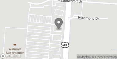 Map of 4621 Ramsey Rd in Fayetteville