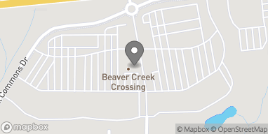 Mapa de 2001 Creekside Landing Drive en Apex