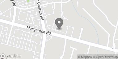 Map of 3710 Morganton Rd in Fayetteville