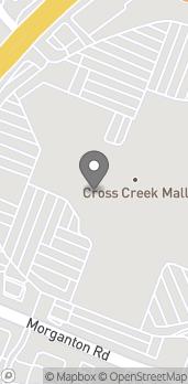 Map of 419 Cross Creek Mall in Fayetteville