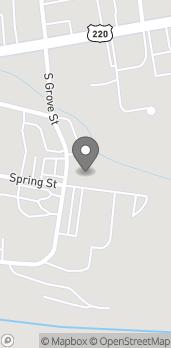 Map of 93 S Grove Street in Petersburg