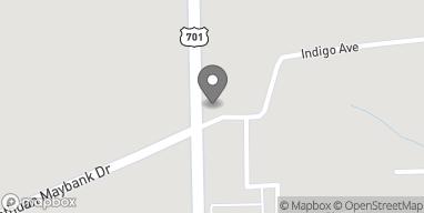 Map of 1140 N Fraser St in Georgetown