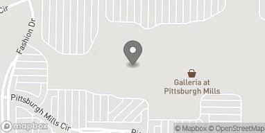 Map of 138 Pittsburgh Mills Circle in Tarentum