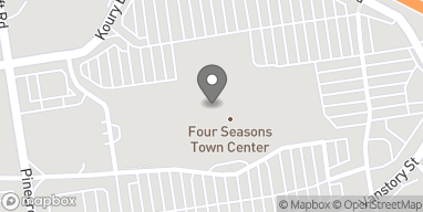 Map of 410 Four Seasons Town Center in Greensboro