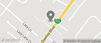 Map of 1106 Chuck Dawley Blvd. in Mt Pleasant