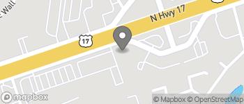 Map of 631 Johnnie Dodds Blvd in Mt Pleasant