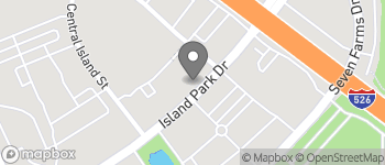 Map of 864 Island Park Drive in Charleston
