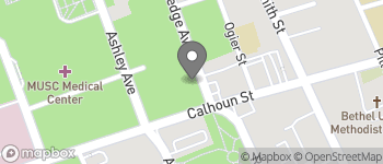 Map of 135 Rutledge Ave in Charleston