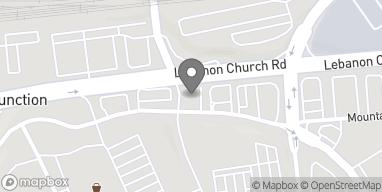 Map of 2060 Lebanon Church Road in West Mifflin
