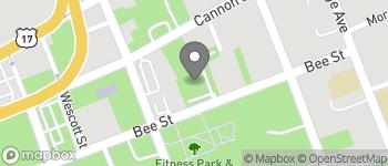 Map of 30 Bee Street in Charleston