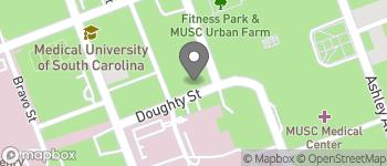 Map of 67 President St in Charleston