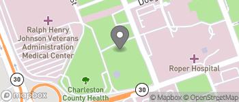 Map of 10 McClennan Banks Dr in Charleston