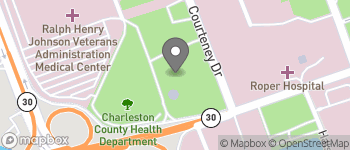 Map of 10 McClennan Banks Drive in Charleston