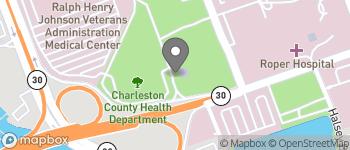 Map of 10 McClennan Banks Drive in Charleston