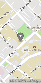 Map of 4041 5th Avenue in Pittsburgh
