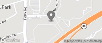 Map of 490 Martello Drive in Charleston