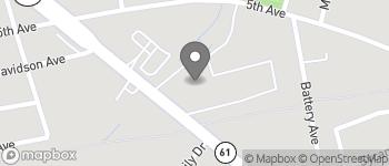 Map of 1014 Saint Andrews Blvd in Charleston