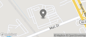 Map of 2401 Mall Dr in North Charleston