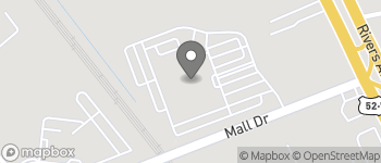 Map of 2250 Mall Dr in North Charleston