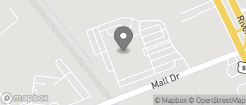 Map of 2250 Mall Drive in North Charleston