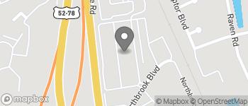 Map of 2070 Northbrook Boulevard in North Charleston