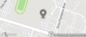Map of 8992 University Blvd in North Charleston