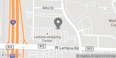 Map of 1587 W Lantana Rd in Lantana