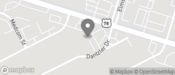 Map of 2750 Dantzler Drive in North Charleston