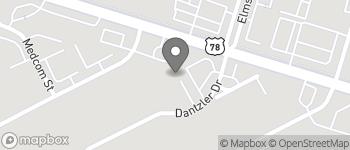 Map of 2750 Dantzler Dr in North Charleston