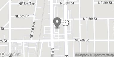 Map of 455 NE 5th Ave in Delray Beach