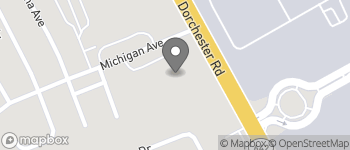 Map of 1001 Michigan Avenue in North Charleston