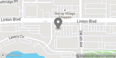 Map of 520 Linton Blvd in Delray Beach