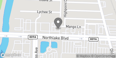 Mapa de 3005 Northlake Blvd en Palm Beach Gardens
