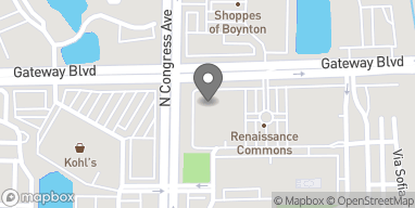 Mapa de 1880 N Congress Ave en Boynton Beach