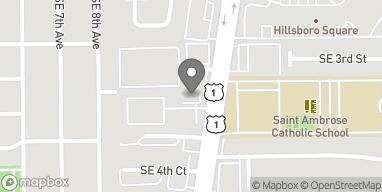 Mapa de 411 South Federal Hwy en Deerfield Beach