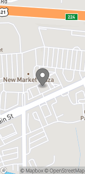 Map of 1020 S Main in Kernersville