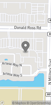 Mapa de 4550 Donald Ross Rd en Palm Beach Gardens
