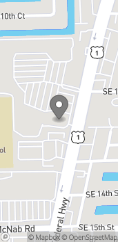 Map of 1299B S Federal Hwy in Pompano Beach