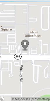 Map of 4749 W Atlantic Ave in Delray Beach