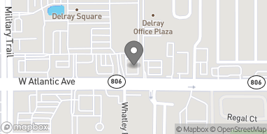 Mapa de 4749 W Atlantic Ave en Delray Beach