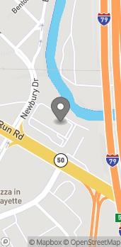 Map of 160 Millers Run Rd in Bridgeville