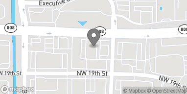 Map of 2200 W. Glades Rd in Boca Raton
