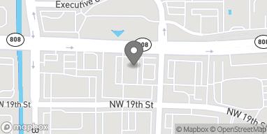 Mapa de 2200 W. Glades Rd en Boca Raton