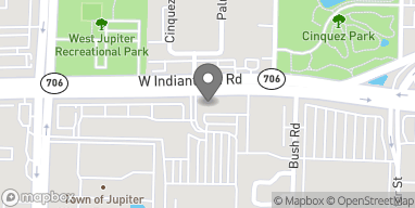 Map of 6286 W Indiantown Road in Jupiter