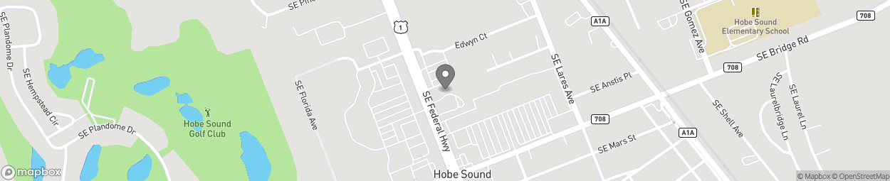 Map of 11675 SE Federal Highway in Hobe Sound