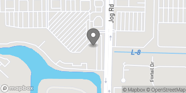 Mapa de 6748 Forest Hill Blvd en Greenacres
