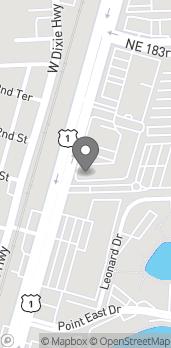 Mapa de 18101 Biscayne Boulevard en Aventura