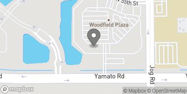 Mapa de 3013 Yamato Rd en Boca Raton