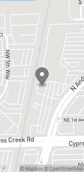 Mapa de 6311 N Andrews Ave en Fort Lauderdale