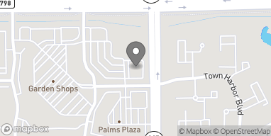 Map of 22119 Powerline Rd in Boca Raton